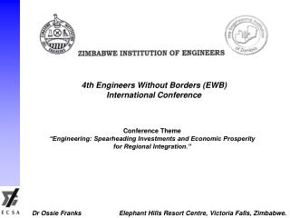 4th Engineers Without Borders (EWB) International Conference