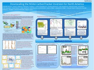 Downscaling the NOAA CarbonTracker Inversion for North America