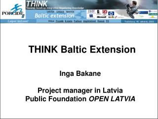 THINK Baltic Extension
