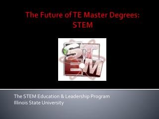 The Future of TE Master Degrees: STEM