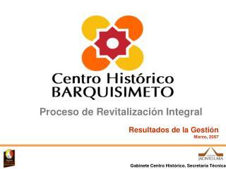 Gabinete Centro Histórico. Secretaría Técnica