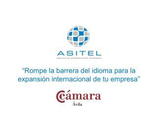 """""""Rompe la barrera del idioma para la expansión internacional de tu empresa"""""""