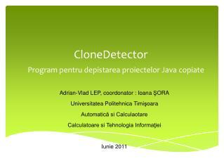 CloneDetector