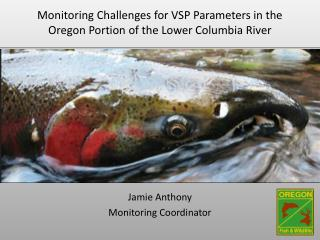 Monitoring Challenges for VSP Parameters in the Oregon Portion of the Lower Columbia River