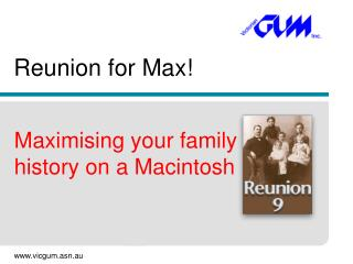 Reunion for Max!