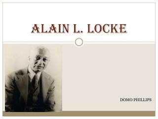 Alain L. Locke