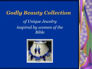 Godly Beauty Collection