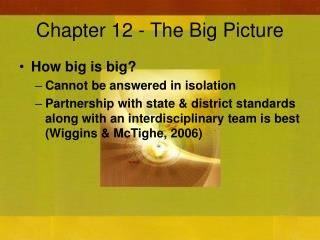 Chapter 12 - The Big Picture