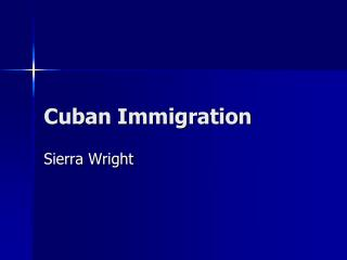 Cuban Immigration