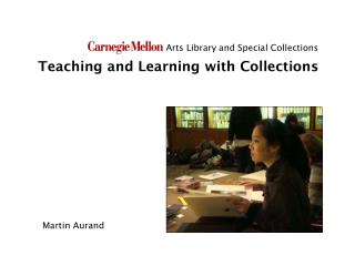 Teaching and Learning with Collections