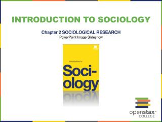 Introduction to Sociology Chapter 2  SOCIOLOGICAL RESEARCH PowerPoint Image Slideshow