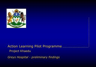 Action Learning Pilot Programme Project Khaedu