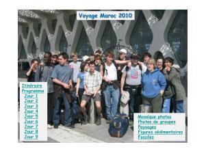 Voyage Maroc 2010
