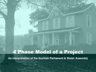 4 Phase Model of a Project