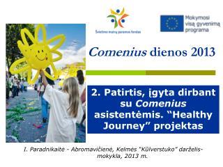 Comenius  dienos 2013
