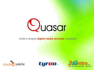 India's largest  digital media services  company