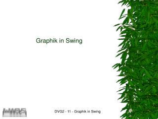 Graphik in Swing