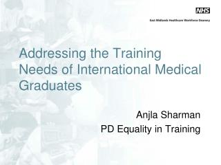 Addressing the Training Needs of International Medical Graduates