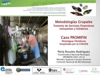 Metodologías  Grupales Fomento de Servicios Financieros Incluyentes y Solidarios