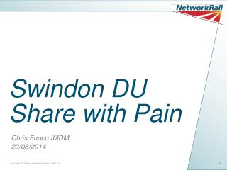 Swindon DU Share with Pain