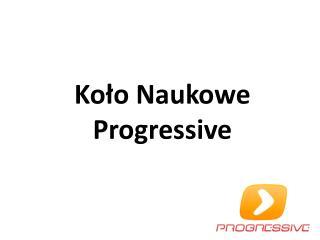 Koło Naukowe Progressive