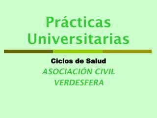 Pr cticas Universitarias