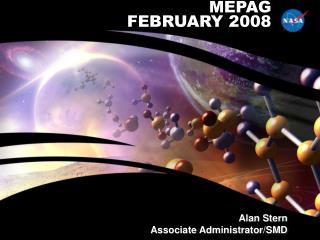 MEPAG FEBRUARY 2008
