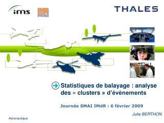 Statistiques de balayage : analyse des «clusters» d'évènements