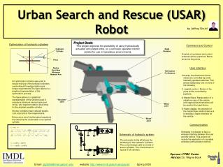 Urban Search and Rescue (USAR) Robot