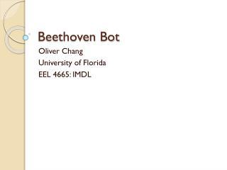 Beethoven  Bot