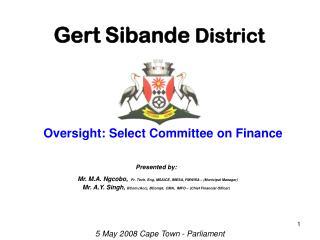 Gert Sibande  District