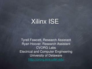 Xilinx ISE