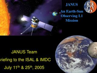 JANUS An Earth-Sun Observing L1 Mission