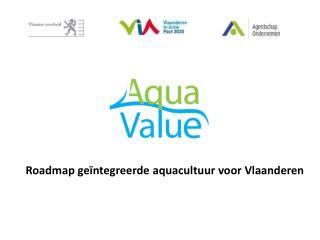 Roadmap geïntegreerde aquacultuur voor Vlaanderen