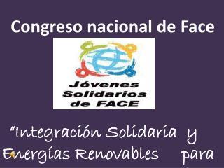 Congreso nacional de Face