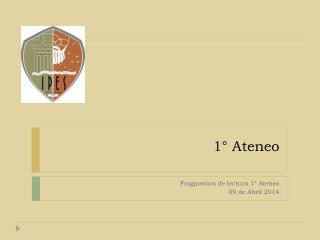 1° Ateneo