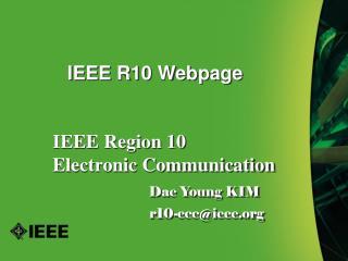 IEEE R10 Webpage