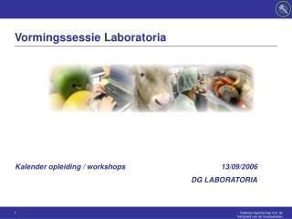 Vormingssessie Laboratoria