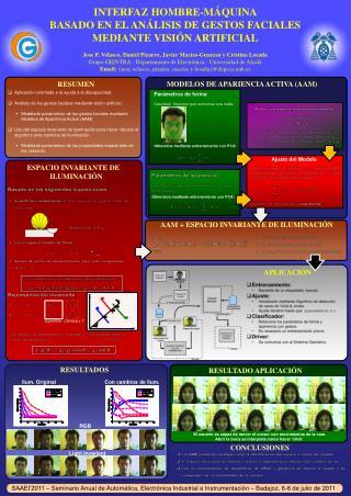 Interfaz hombre-máquina  basado en el análisis de gestos faciales mediante visión artificial