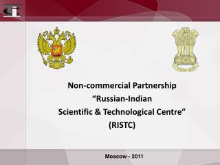 "Non-commercial Partnership ""Russian-Indian  Scientific & Technological Centre"" (RISTC)"