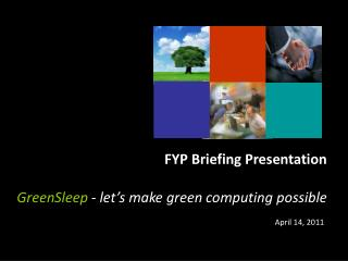 GreenSleep  -  let's make green computing possible