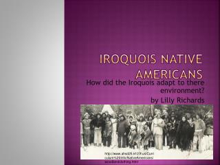 Iroquois Native Americans