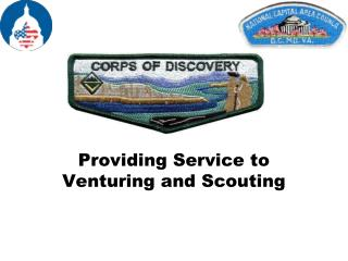 Providing Service to Venturing and Scouting