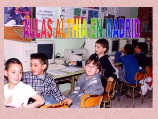 AULAS ALTHIA EN MADRID
