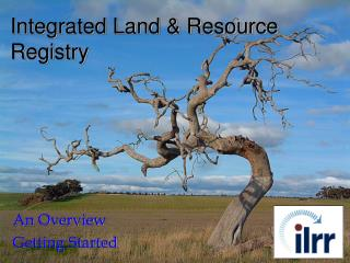 Integrated Land & Resource Registry