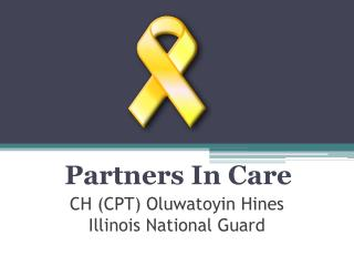 CH (CPT) Oluwatoyin Hines Illinois National Guard