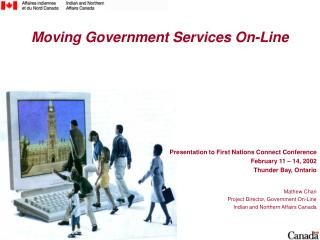 Moving Government Services On-Line