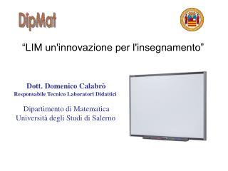 """""""LIM un'innovazione per l'insegnamento"""""""