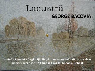 Lacustr?