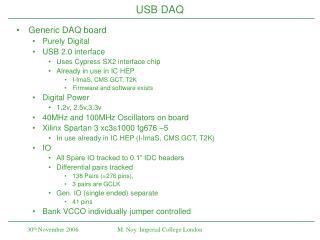 USB DAQ